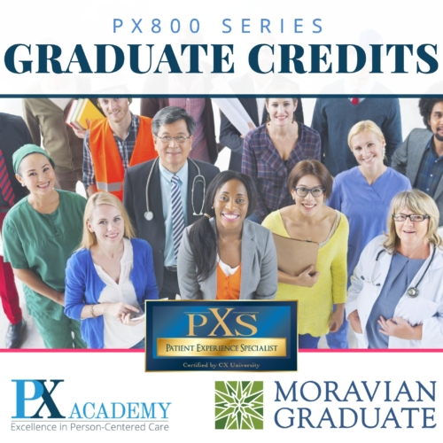Patient Experience college credits